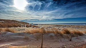Zon in de duinen van Il se