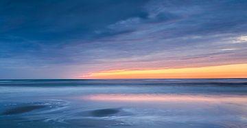Sunset at the beach sur