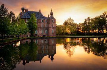 Schloss Cannenburch Sonnenuntergang von Patrick Rodink