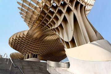SEVILLA, SPANIEN. Metropol Sonnenschirm Sonnenschirm Gebäude in Sevilla, Spanien von Tjeerd Kruse
