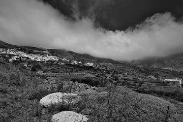 Spoa, Karpathos, Griekenland von Peter Baak