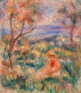 Renoir, Frau sitzend am Meer (1917)