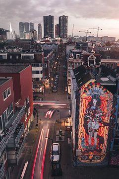Wandbild, Rotterdam von Joey van Embden