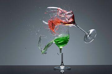 Gebroken Glas van Dick Dekkers
