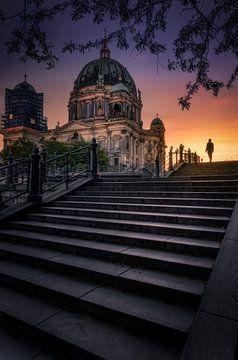 Berlin Dom Sunset von Iman Azizi