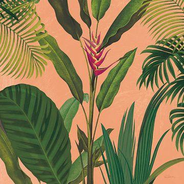 Dramatische tropische II BOHO, Sue Schlabach van Wild Apple