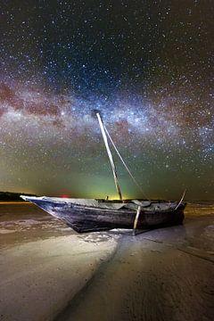 Zanzibar night boat van Vincent Xeridat