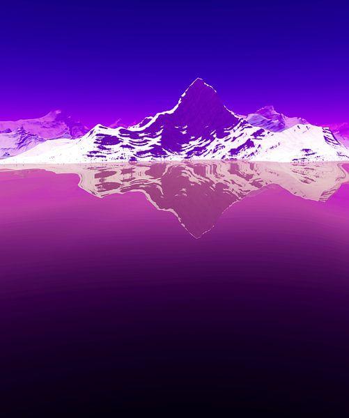 Montagnes Enneigées 3 van Angel Estevez
