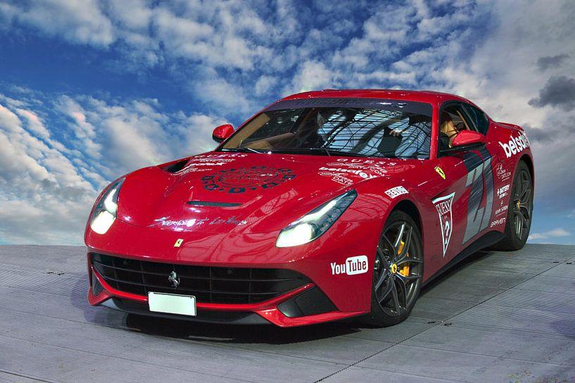Ferrari van Brian Morgan