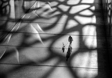 Schattenspiel in der Architektur von Marcel van Balken