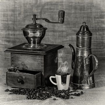 koffiemolen nostalgie van Klaartje Majoor