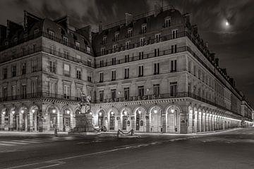 Hotel Regina in der Nacht, Paris .. von Patrick Löbler