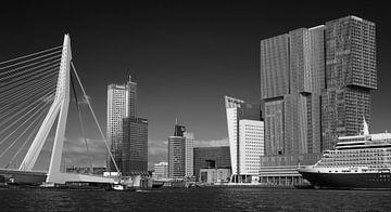 Manhattan aan de Maas #2 van Mario Bentvelsen