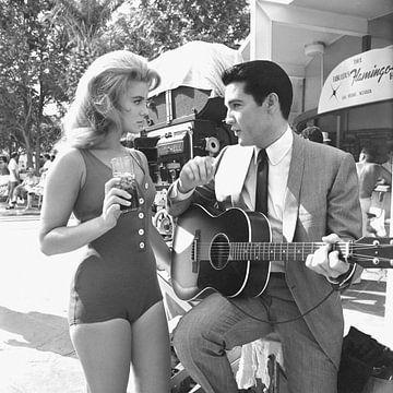 Elvis Presley und Ann-Margret von Bridgeman Images