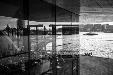 Eye Amsterdam Zwart-Wit von PIX URBAN PHOTOGRAPHY