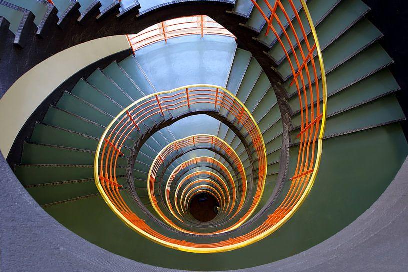 Konturhaustreppe Hamburg von Patrick Lohmüller