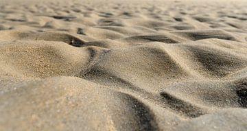 Sandstrand Nahaufnahme von Michel Knikker
