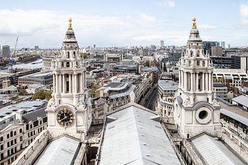 Londres vue de la cathédrale Saint-Paul sur Eric van Nieuwland