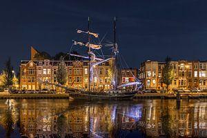Avond in Oosterhaven Groningen van