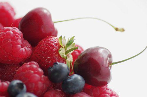 Kirsche, Himbeere, Blaubeeren Erdbeeren Quartet von Tanja Riedel