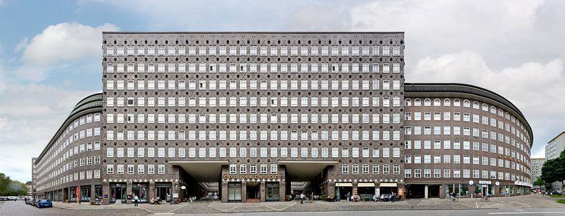 Hamburg Sprinkenhof Streetline van Panorama Streetline