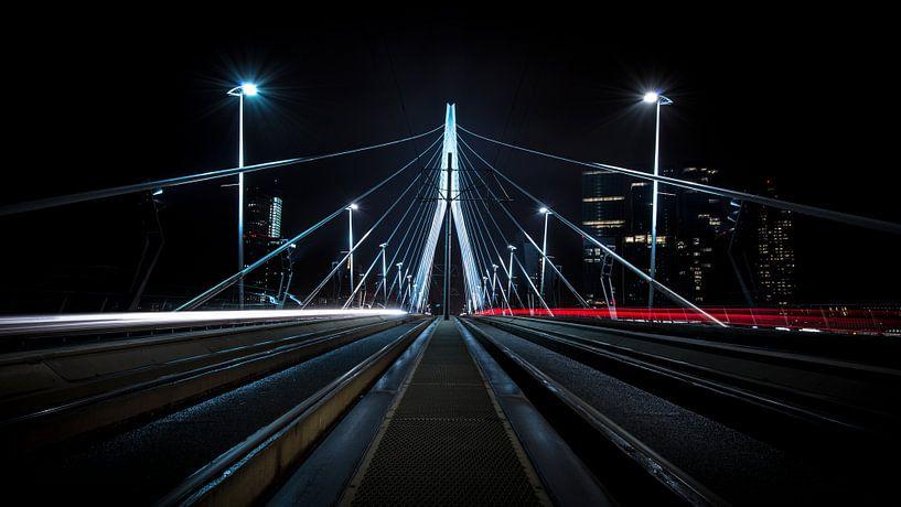 Erasmusbrug, Rotterdam van Dennis Wierenga
