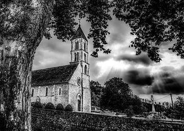 Kerkje in Normandië sur Harrie Muis