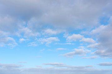 Hollandse lucht boven Noordzee