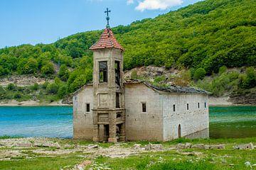Kerk in het water van s Zenki