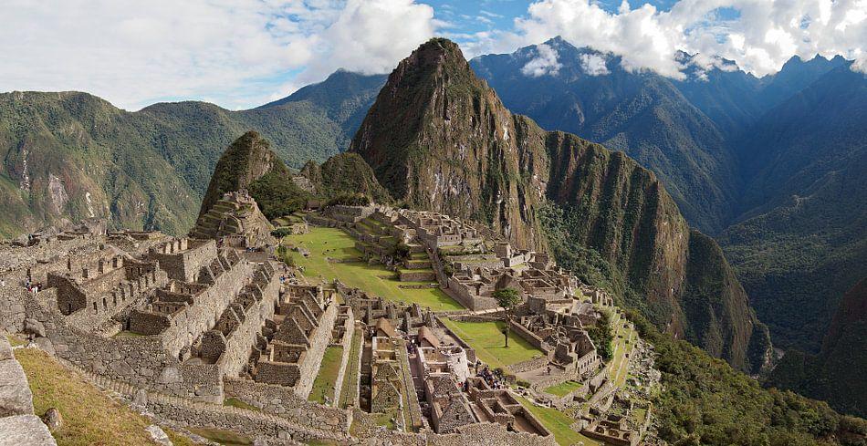 Ruïnes van de historische Inca stad Machu Picchu van iPics Photography