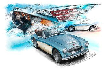 Austin Healey 3000 Mk III - 1964 von Martin Melis