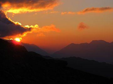 Alpine Sunrise von menno visser