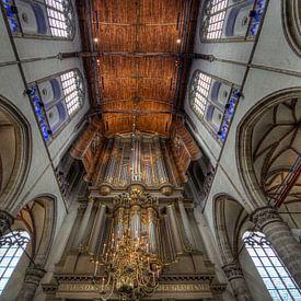 De Grote Sint Laurenskerk, Alkmaar van Mike Bing