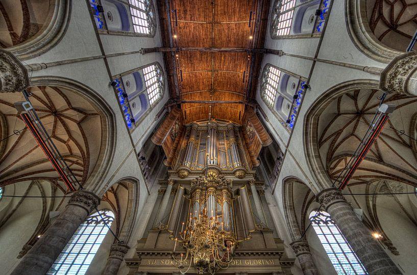 La Grande église Saint-Laurent-sur-le-Main, Alkmaar sur Mike Bing