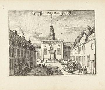 Blick auf die Nieuwe Kerk in Haarlem, Romeyn de Hooghe