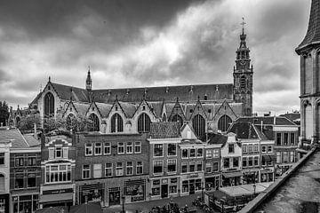 Blick auf die Sint-Janskerk in Gouda von Gouda op zijn mooist