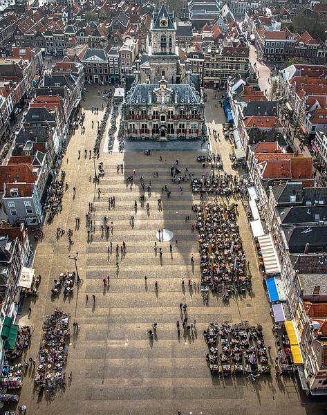 """Delft- """"Markt"""" van Harrie Muis"""