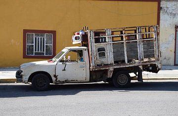 oude auto van Lara De hornois