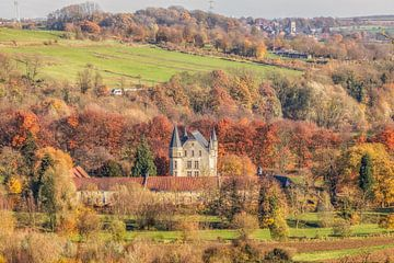 Castle Shale in schönen Herbstfarben von John Kreukniet