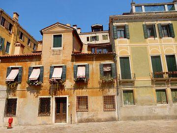 Gebouwen in Venetië von Joke te Grotenhuis