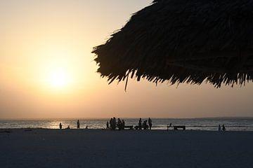 Sansibar Sonnenuntergang von Robert Styppa