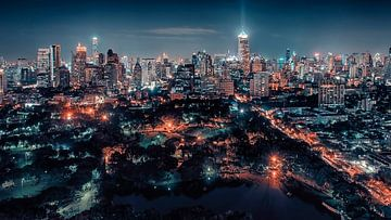 Bangkok bei Nacht von Manjik Pictures