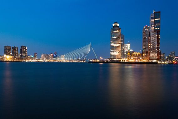 Rotterdam Skyline van Martijn Smeets