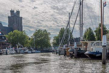 Oude Haven van Dordrecht van Elbertsen Fotografie