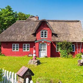 Maison historique à Norddorf sur l'île d'Amrum sur Rico Ködder
