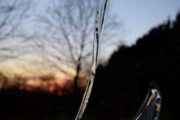 water straal. van