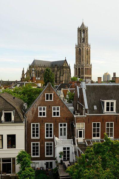 Binnenstad van Utrecht met Domkerk en Domtoren van Merijn van der Vliet