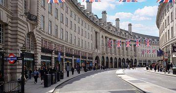 Regent Street, Piccadilly Circus, Londen, Verenigd Koninkrijk van Roger VDB
