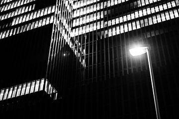 Lantarenpaal voor de Rotterdam van Marco de Waal
