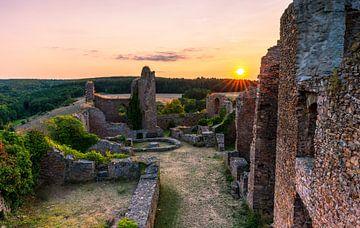 Zonnester in het kasteel van Montfort van Christian Klös